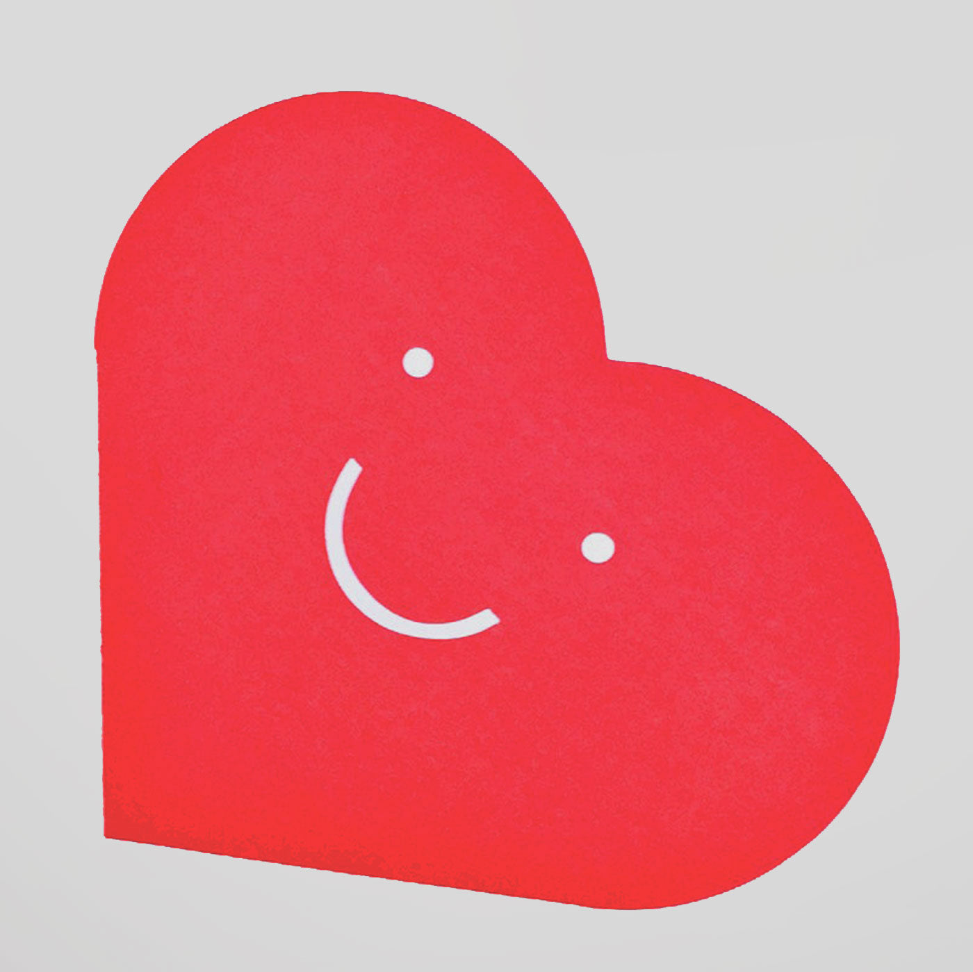 CUT & MAKE HAPPY HEART CARD