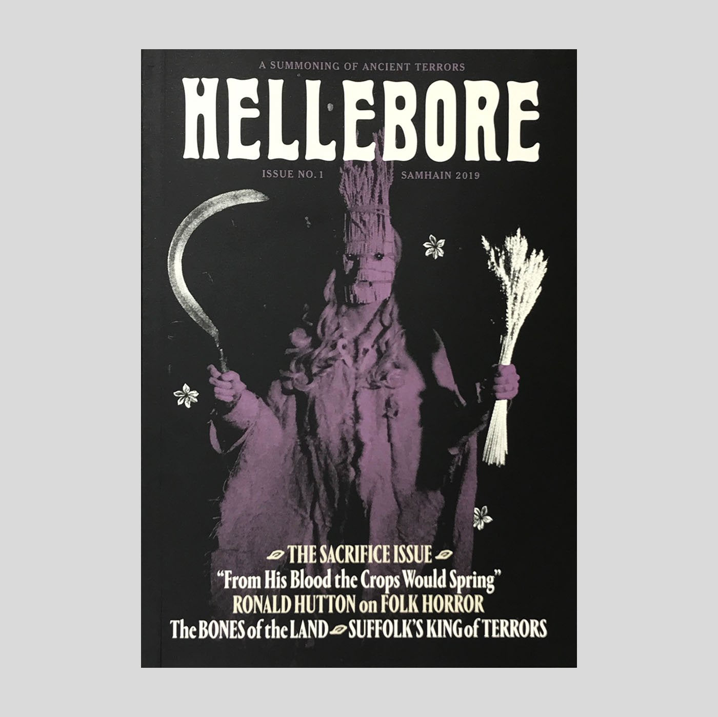 Hellebore Zine #1 The Sacrifice issue - Colours May Vary
