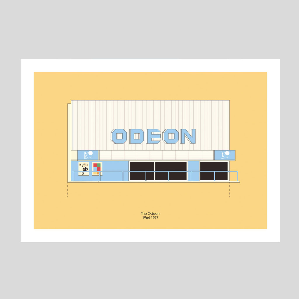 Odeon, Merrion Centre A3 Print | Adam Allsuch Boardman | Colours May Vary