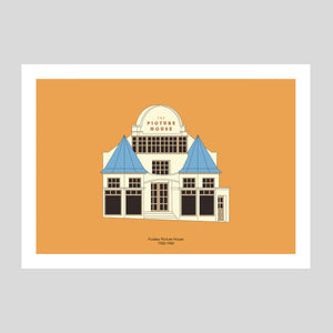 Pudsey Picture House A3 Print | Adam Allsuch Boardman | Colours May Vary