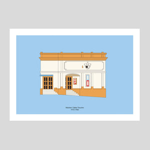 Western Talkie Theatre A3 Print | Adam Allsuch Boardman | Colours May Vary