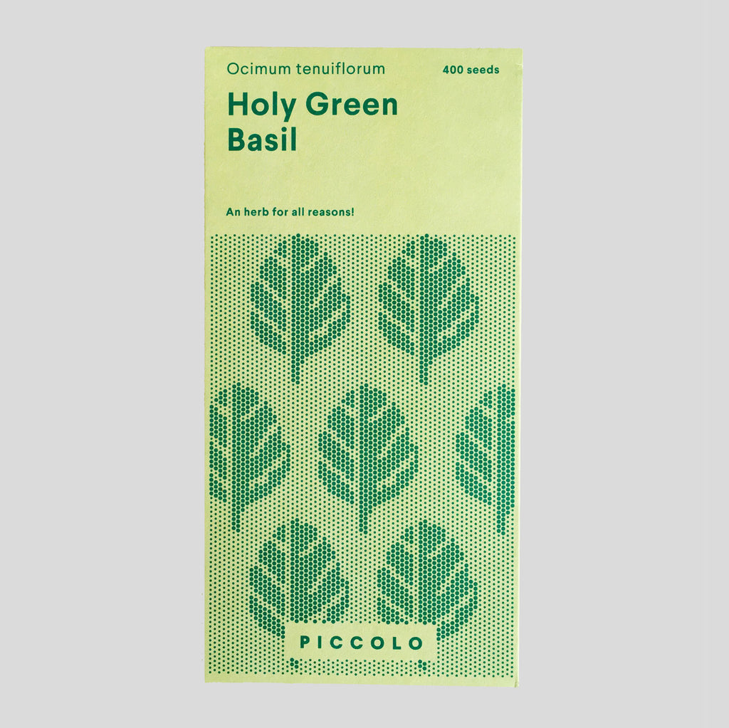 Piccolo Seeds - Holy Green Basil