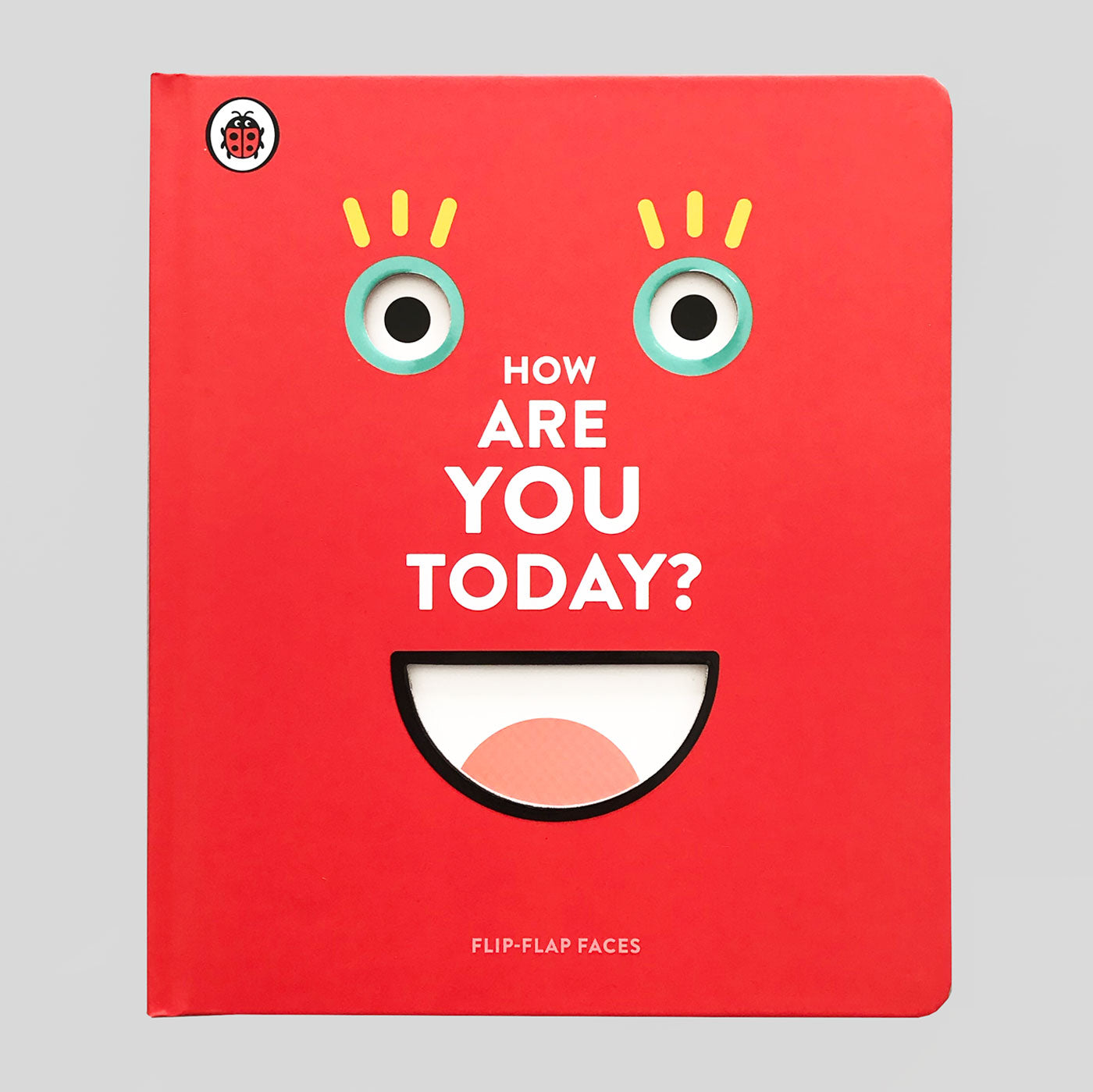 How Are You today? Flip Flap Faces - Colours May Vary