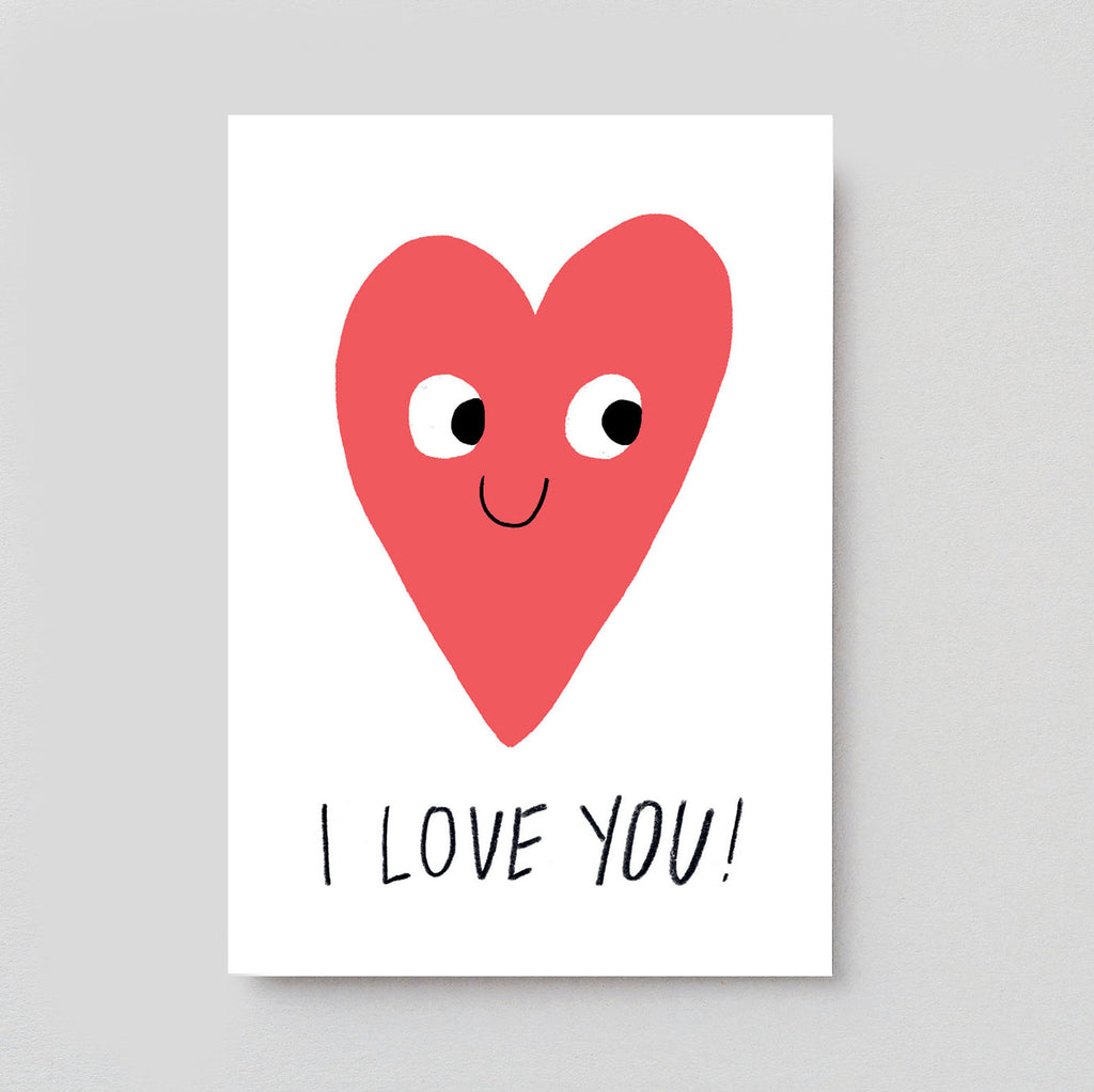 Elliot Kruszynski For Wrap - I Love You Card