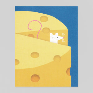 Cheesy Whiskers by Lisa Jones Studio - Colours May Vary