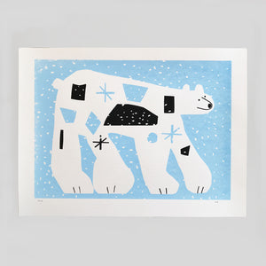 Kieran Blakey - Polar Bear Screenprint