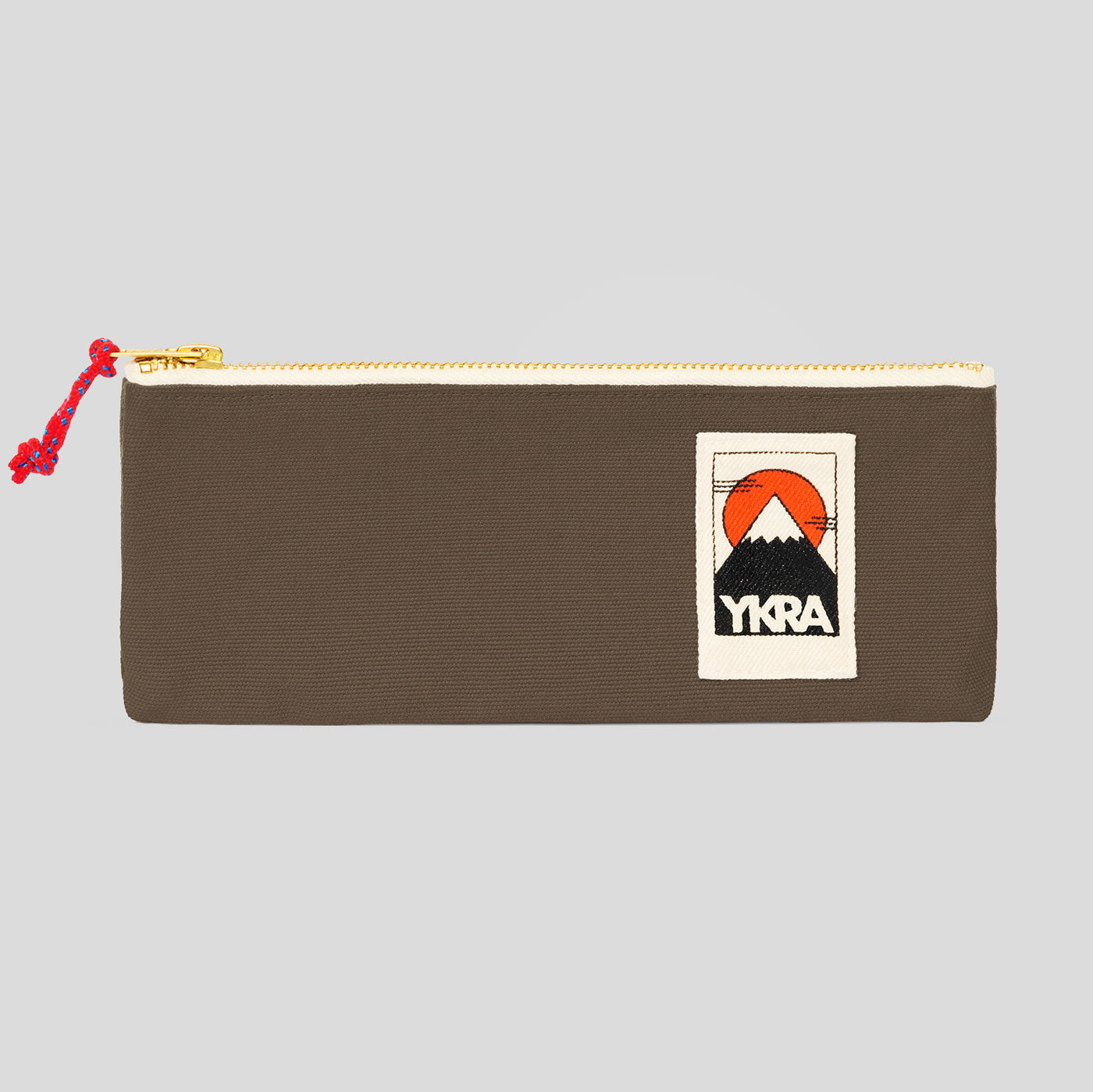 YKRA PENCIL CASE - KHAKI