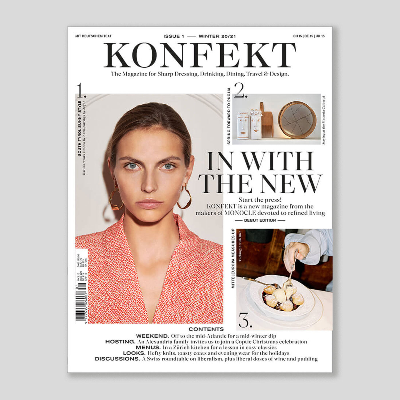 Konfekt Magazine #1 | Colours May Vary