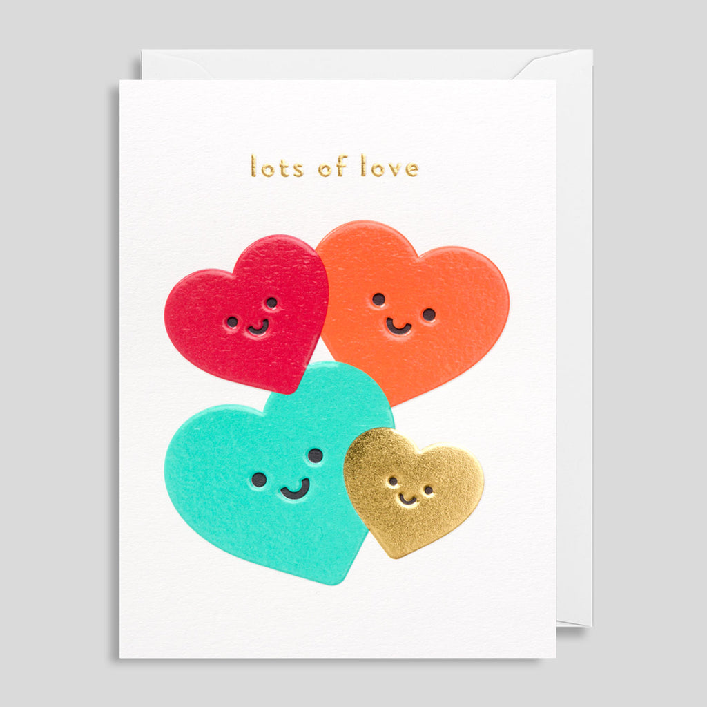Lots Of Love Card by Cozy for Lagom | Colours May Vary
