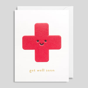 Get Well Soon Card by Cozy for Lagom | Colours May Vary