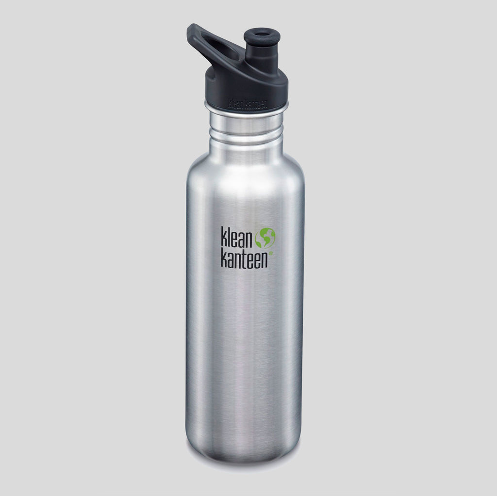 Klean Kanteen | Classic 27oz | Brushed Stainless Steel | Colours May Vary