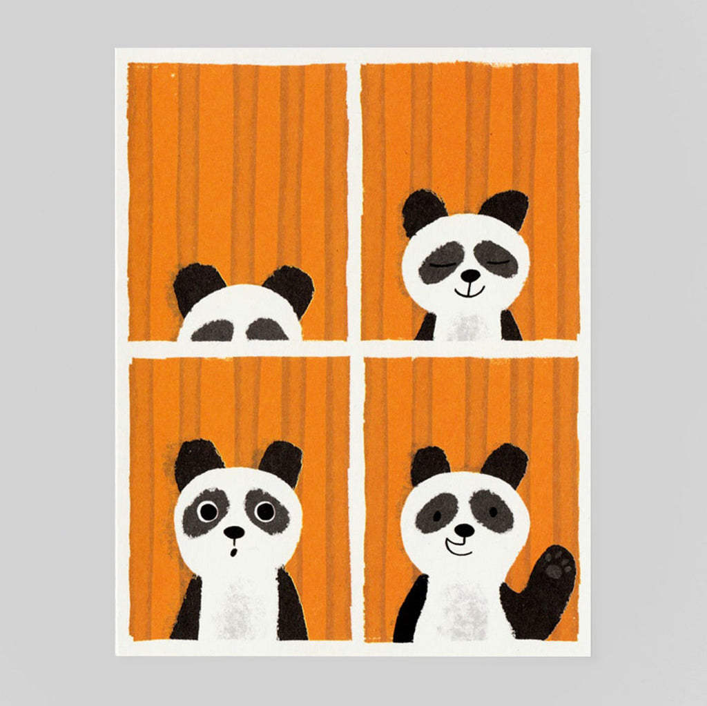 Panda Passport by Lisa Jones Studio - Colours May Vary