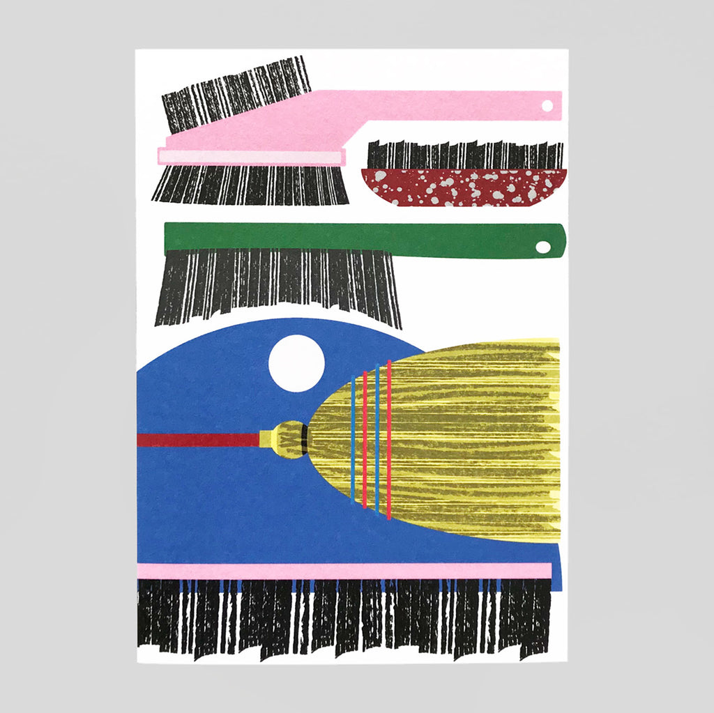 Lottie Hall | Brush Collector Card | Colours May Vary