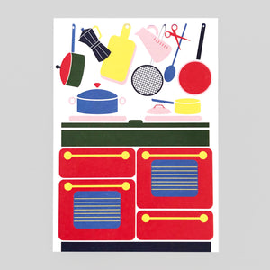 Lottie Hall | The Kitchen Card | Colours May Vary