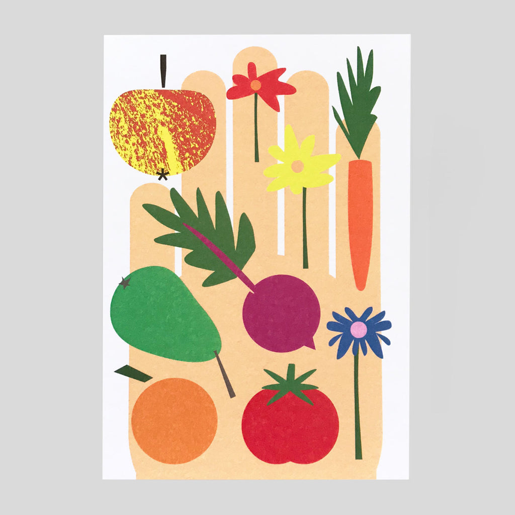 Lottie Hall | After The Garden Card | Colours May Vary