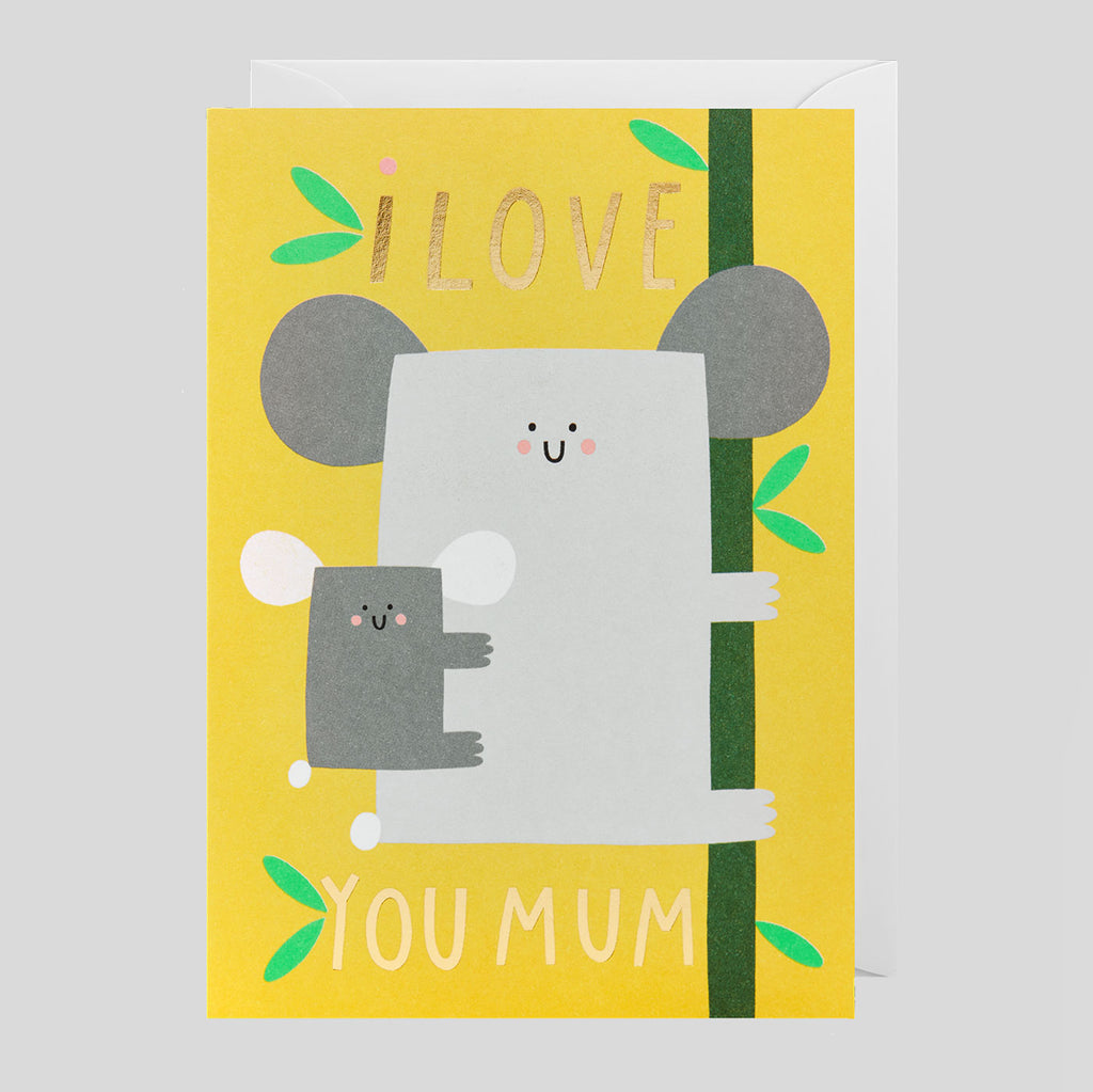 Susie Hammer For Lagom - I Love You Mum Card