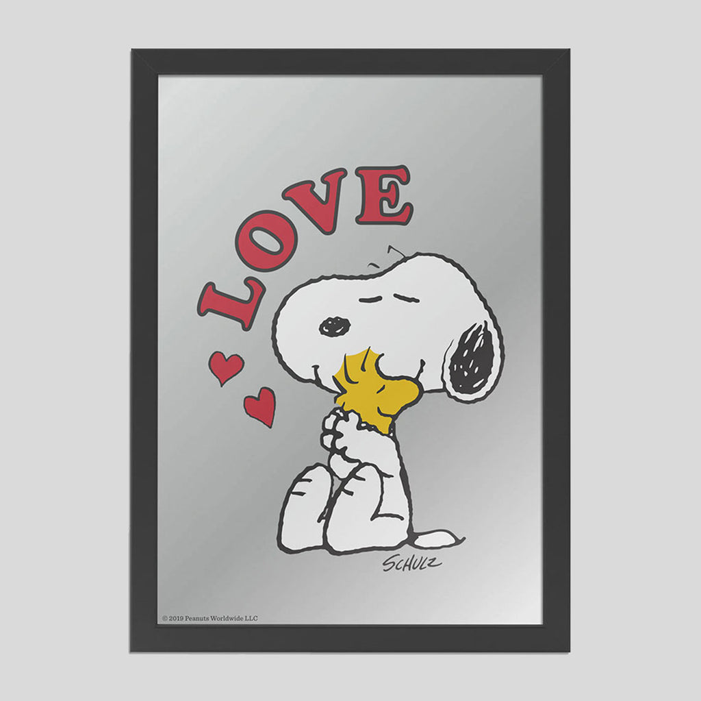 Peanuts Mirror | Love | Colours May Vary