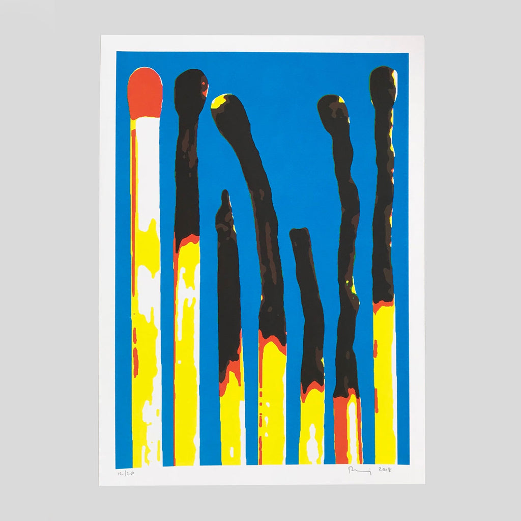 Matches Print (A3) by Ben Denning