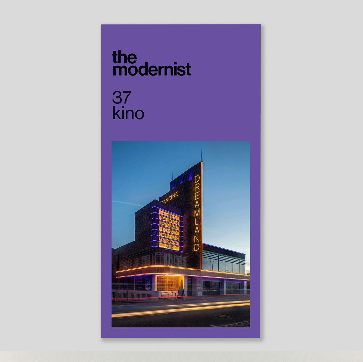 The Modernist #37 'Kino' | Colours May Vary