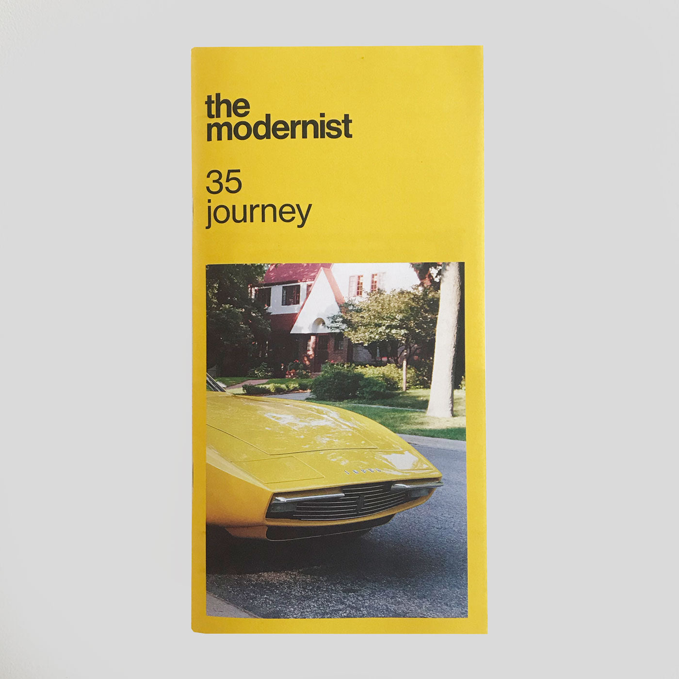 The Modernist #35 'Journey'
