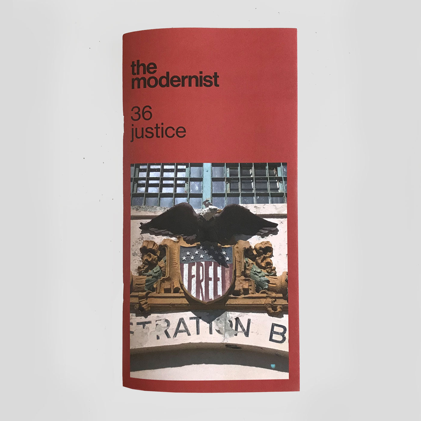 The Modernist #36 'Justice' | Colours May Vary
