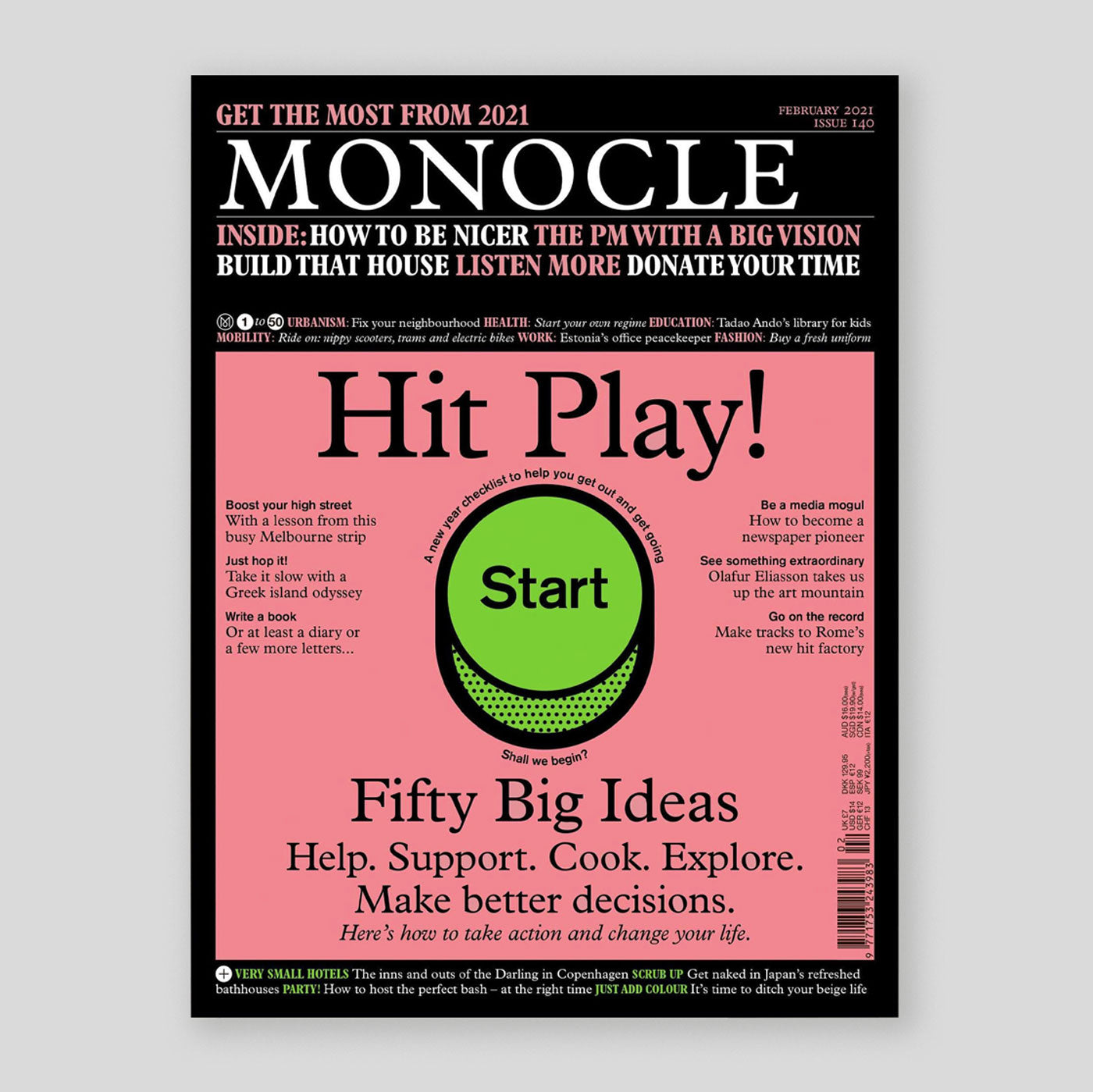 Monocle Magazine #140 | Colours May Vary