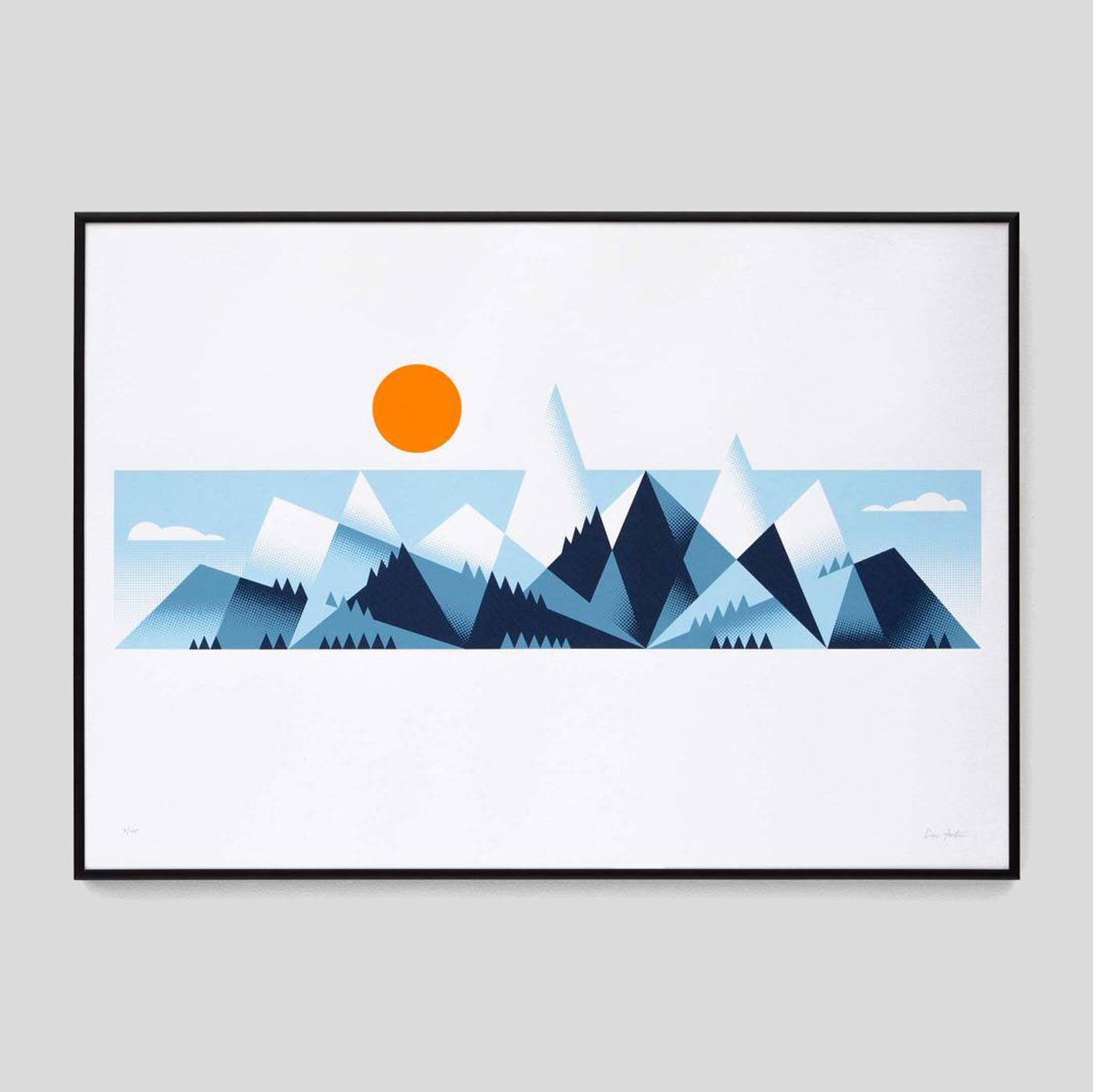 Mountains Print By The Lost Fox