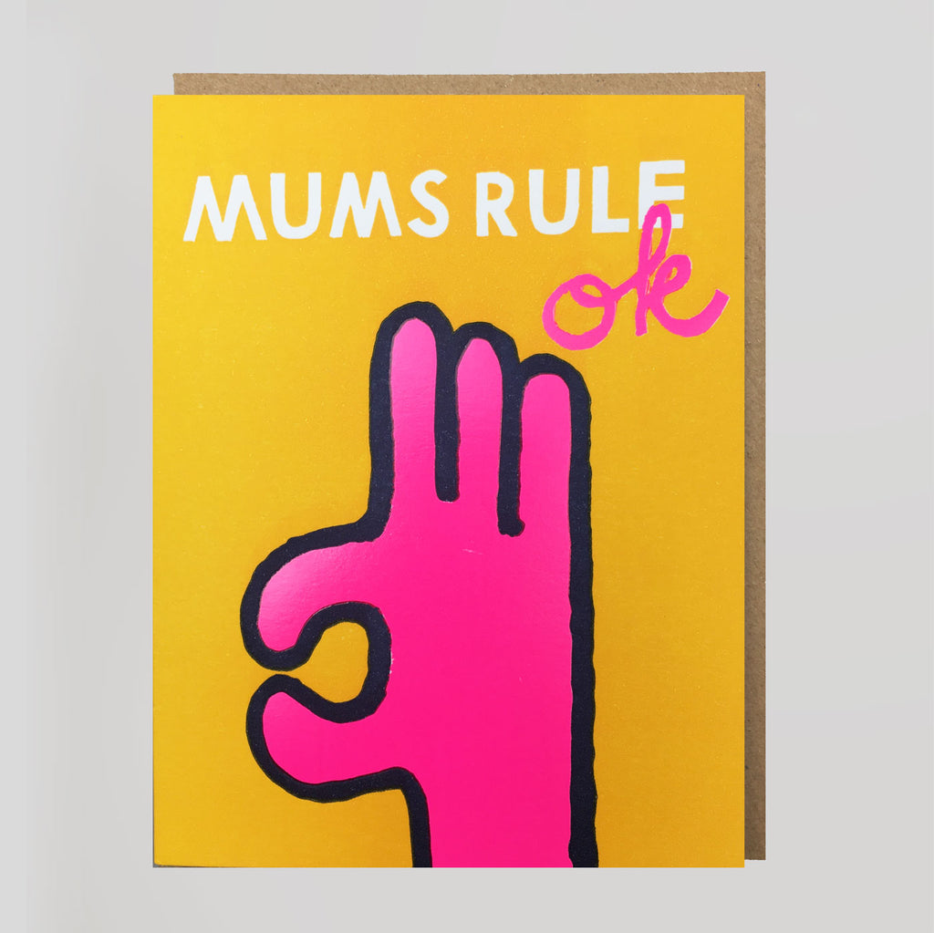 Mum's Rule Ok Card
