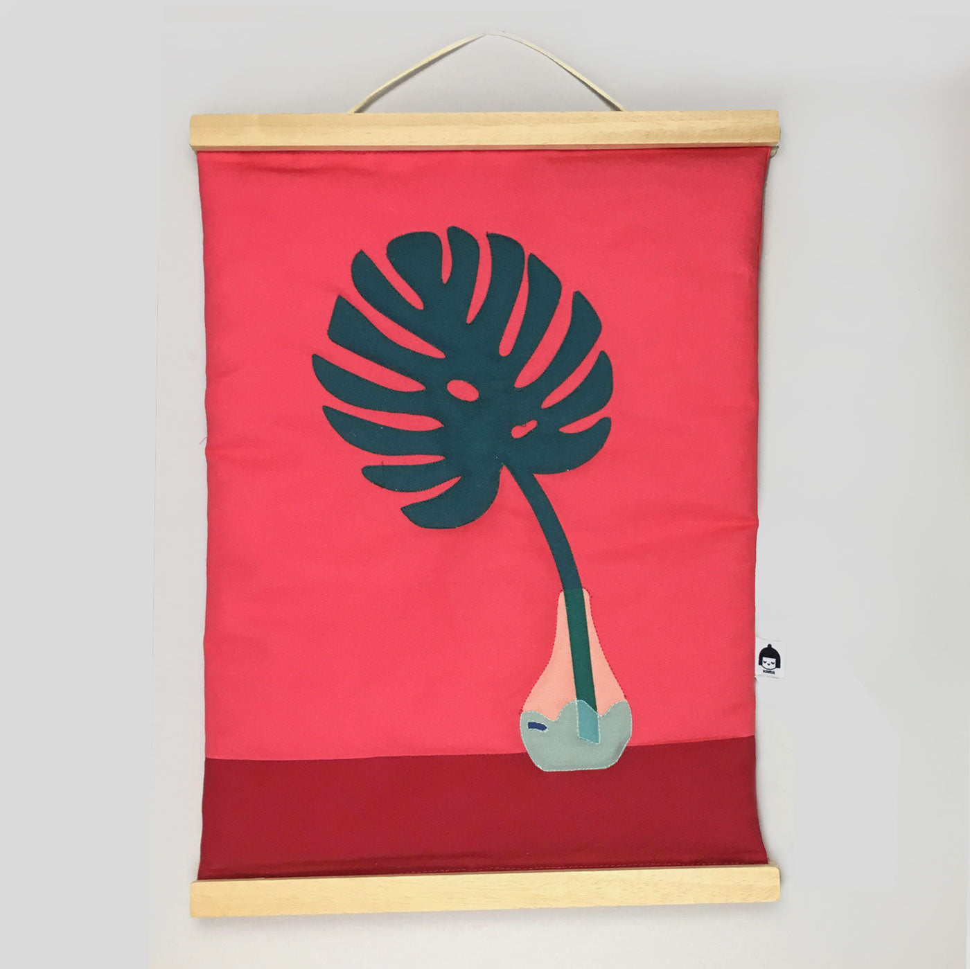 Nama Studio - Wall Hanging (Red)