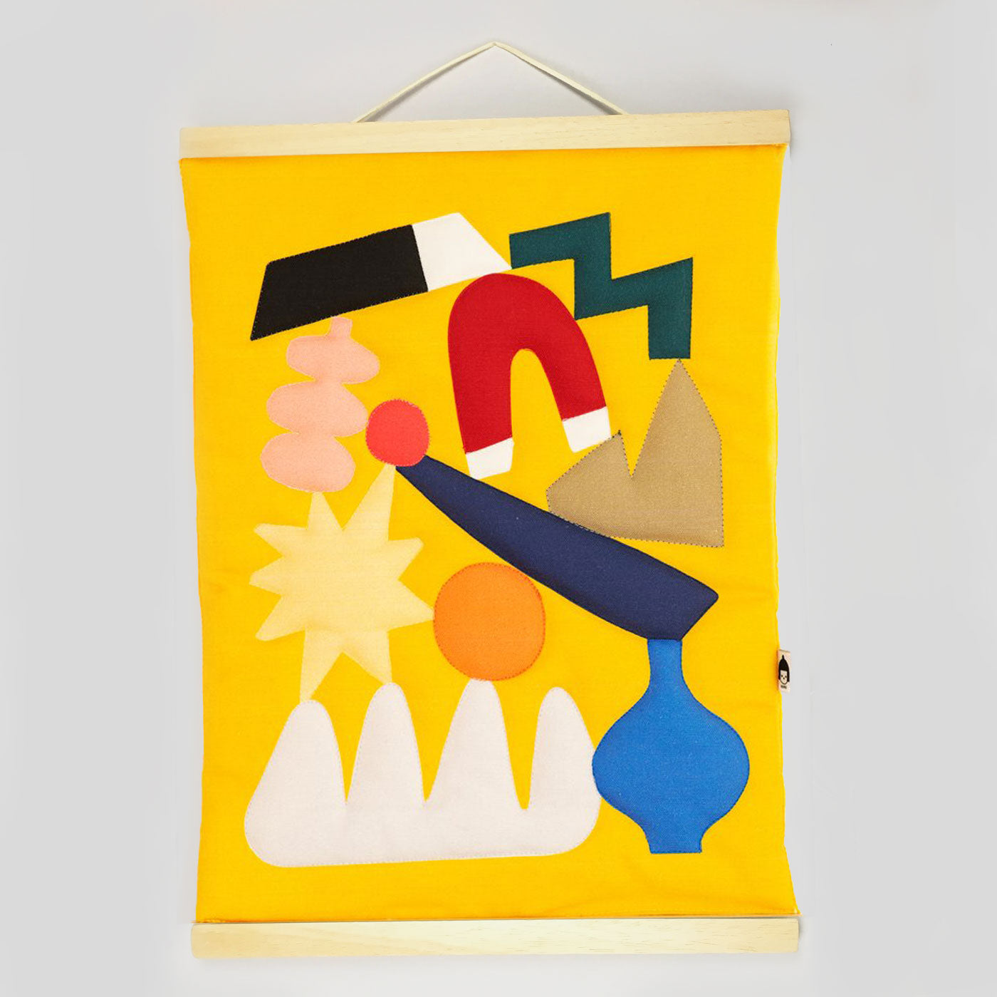 Nama Studio - Wall Hanging (Yellow)