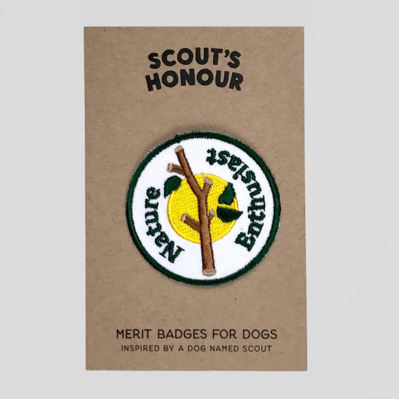 Scouts Honour Merit Patches - Nature Enthusiast