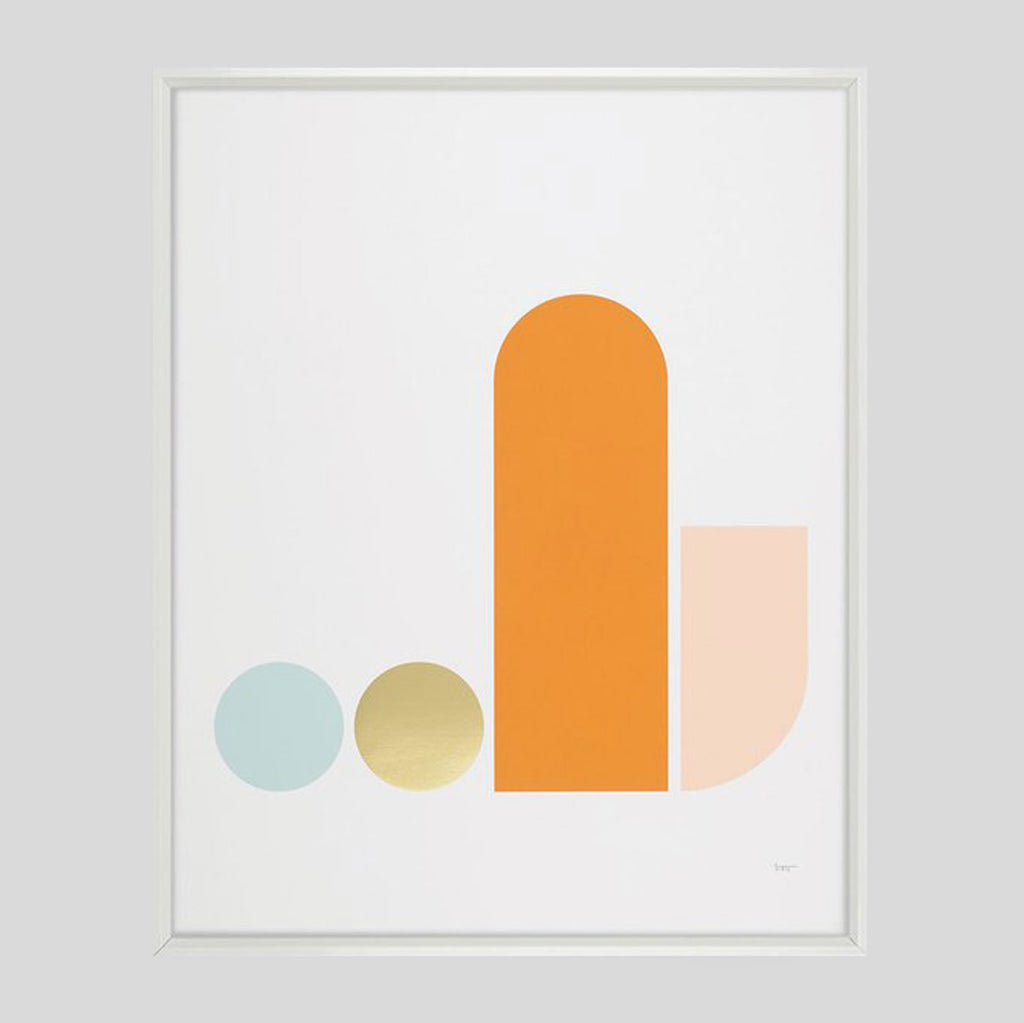 Object 2 Foiled Screenprint - Tom Pigeon - Colours May Vary