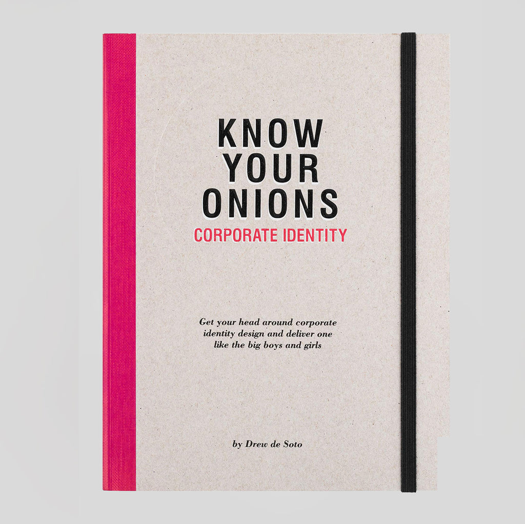 Know Your Onions: Corporate Identity by Drew de Soto - Colours May Vary