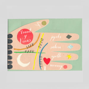 Hadley Paper Goods - Palm Reading Card