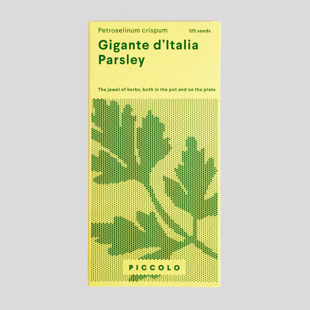 Piccolo Seeds - Parsley Gigante D'Italia