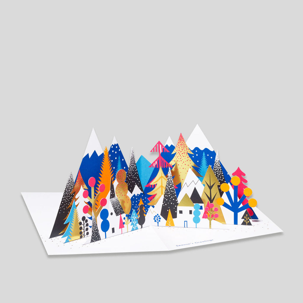 MoMA Pop-Up Holiday Card | Colourful Forest | Colours May Vary