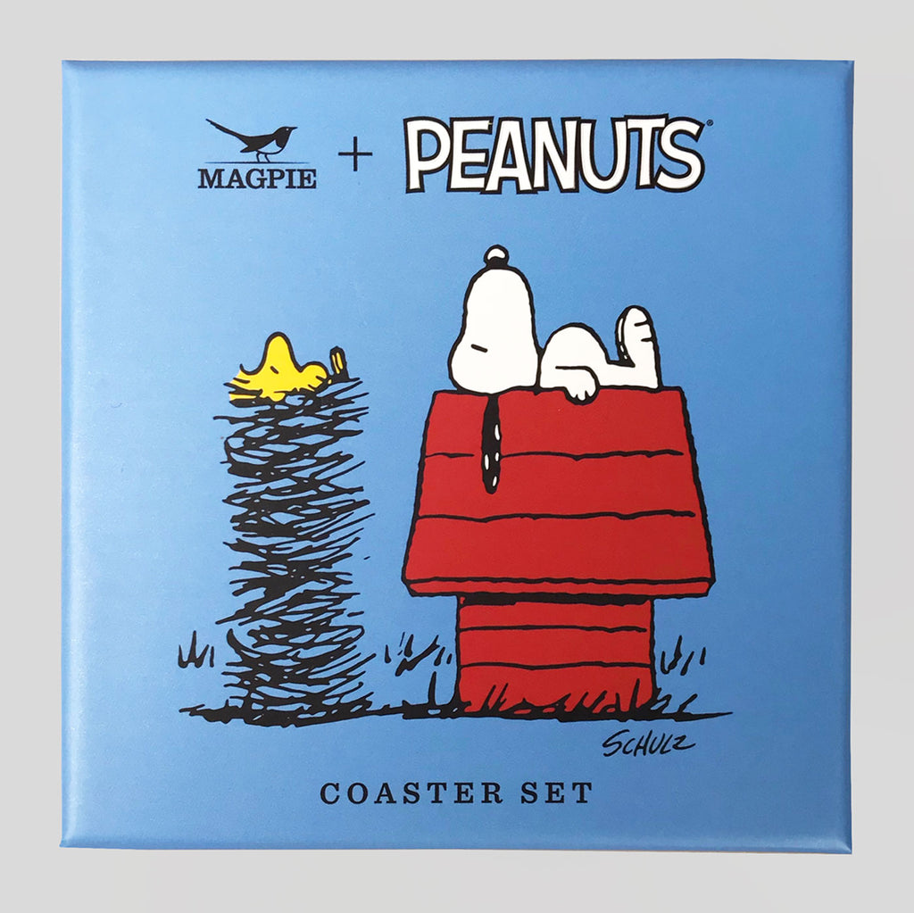 Peanuts Coasters - Snoopy and Woodstock - Colours May Vary