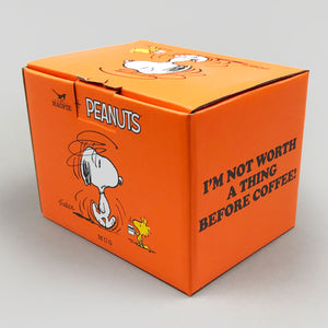Peanuts Mug | I'm Not Worth A Thing Before Coffee | Colours May Vary
