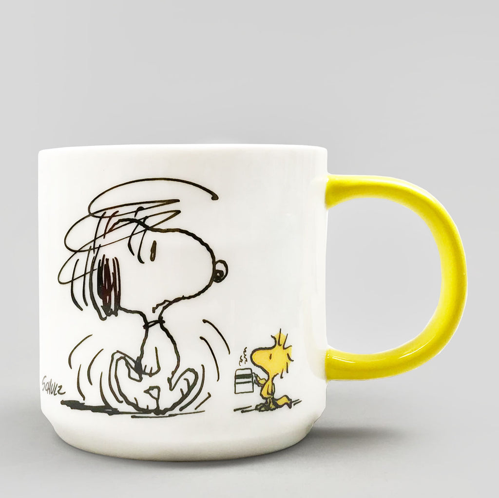 Peanuts Mug - I'm Not Worth A Thing Before Coffee | Colours May Vary