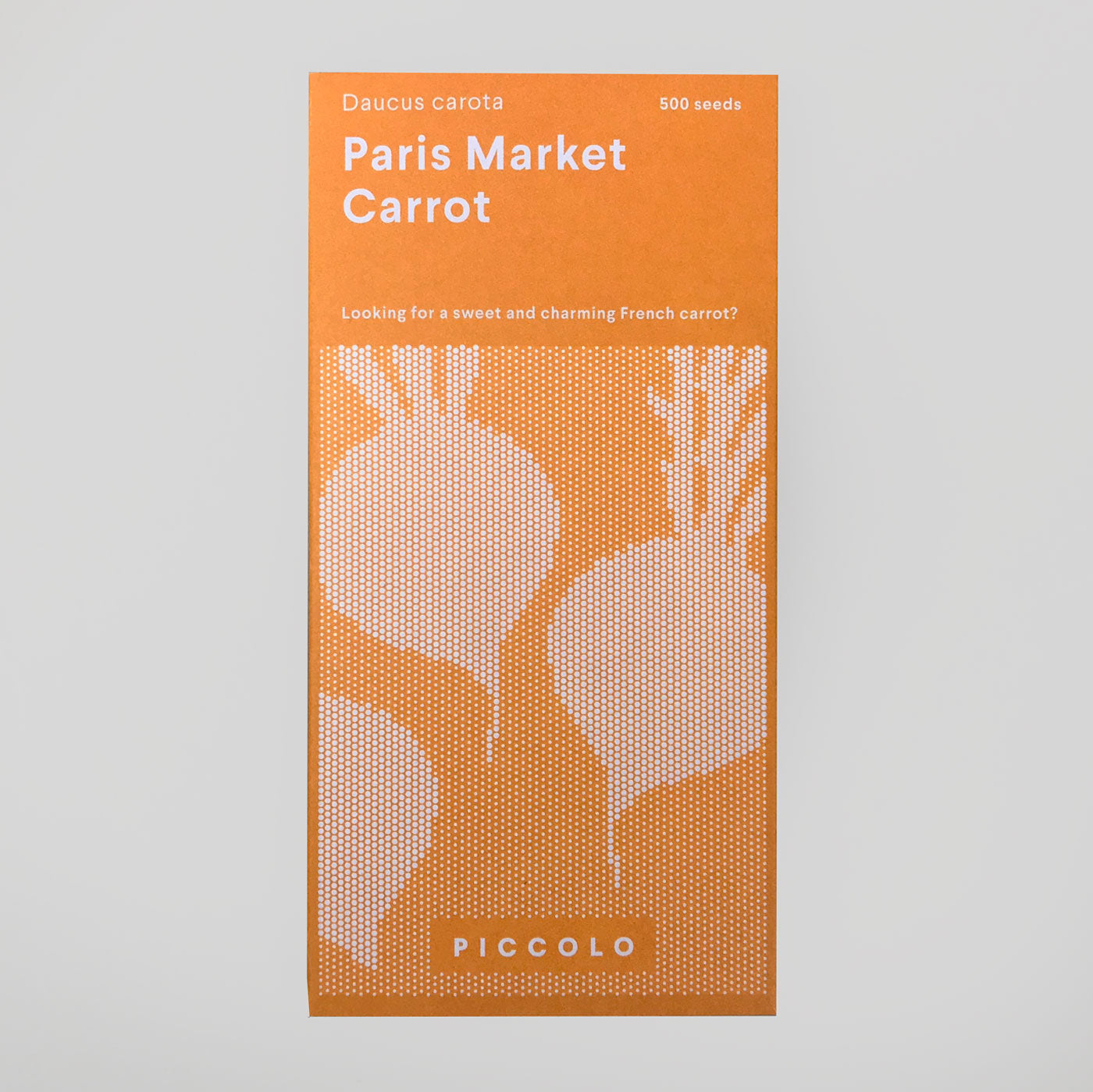 Piccolo Seeds - Carrot 'Paris Market' - Colours May Vary