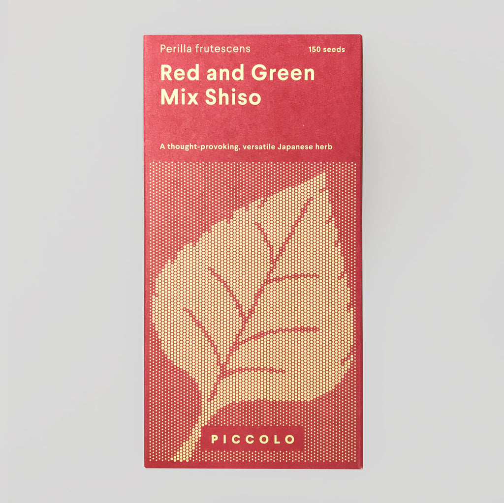 Piccolo Seeds - Shiso 'Red & Green mix' - Colours May Vary