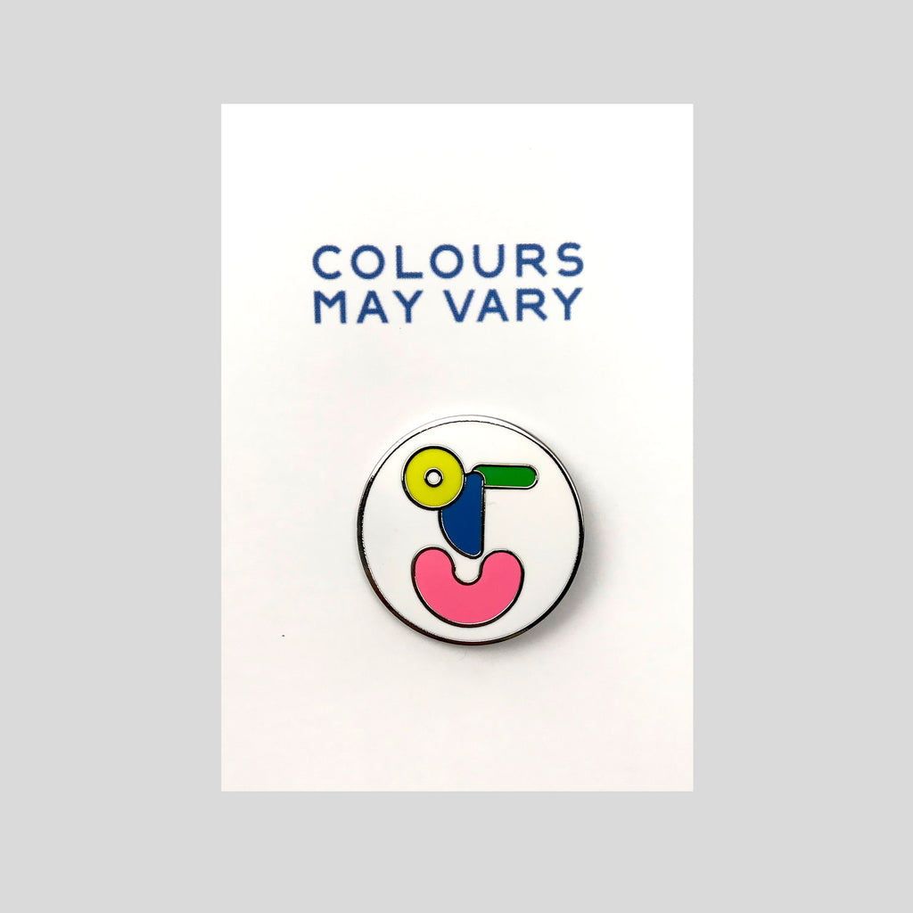Friends Of CMV Enamel Pin.