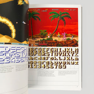 Arcade Game Typography: The Art of Pixel Type - Toshi Omagari - Colours May Vary