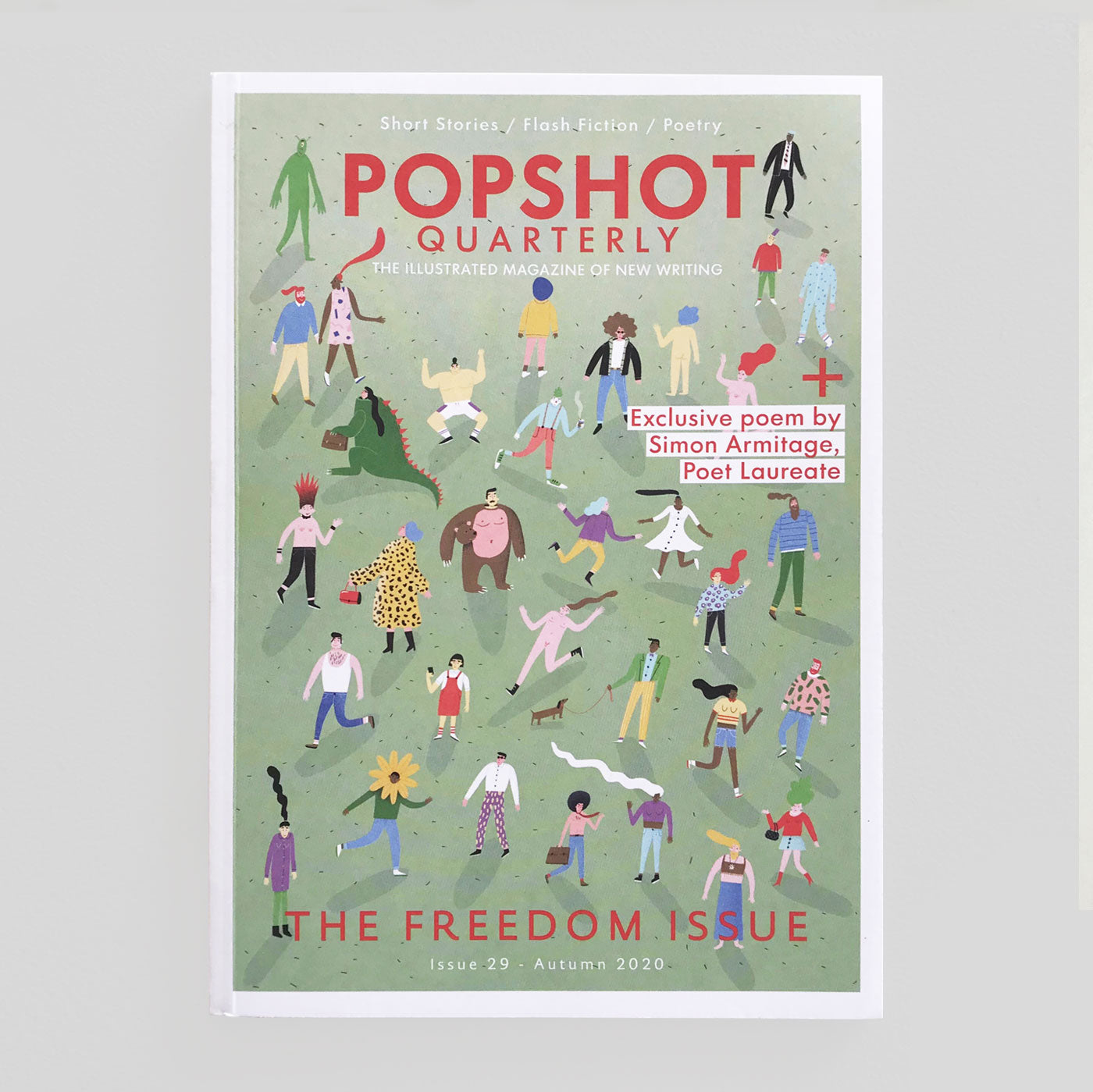 Popshot Quarterly #28 'The Freedom Issue' - Colours May Vary