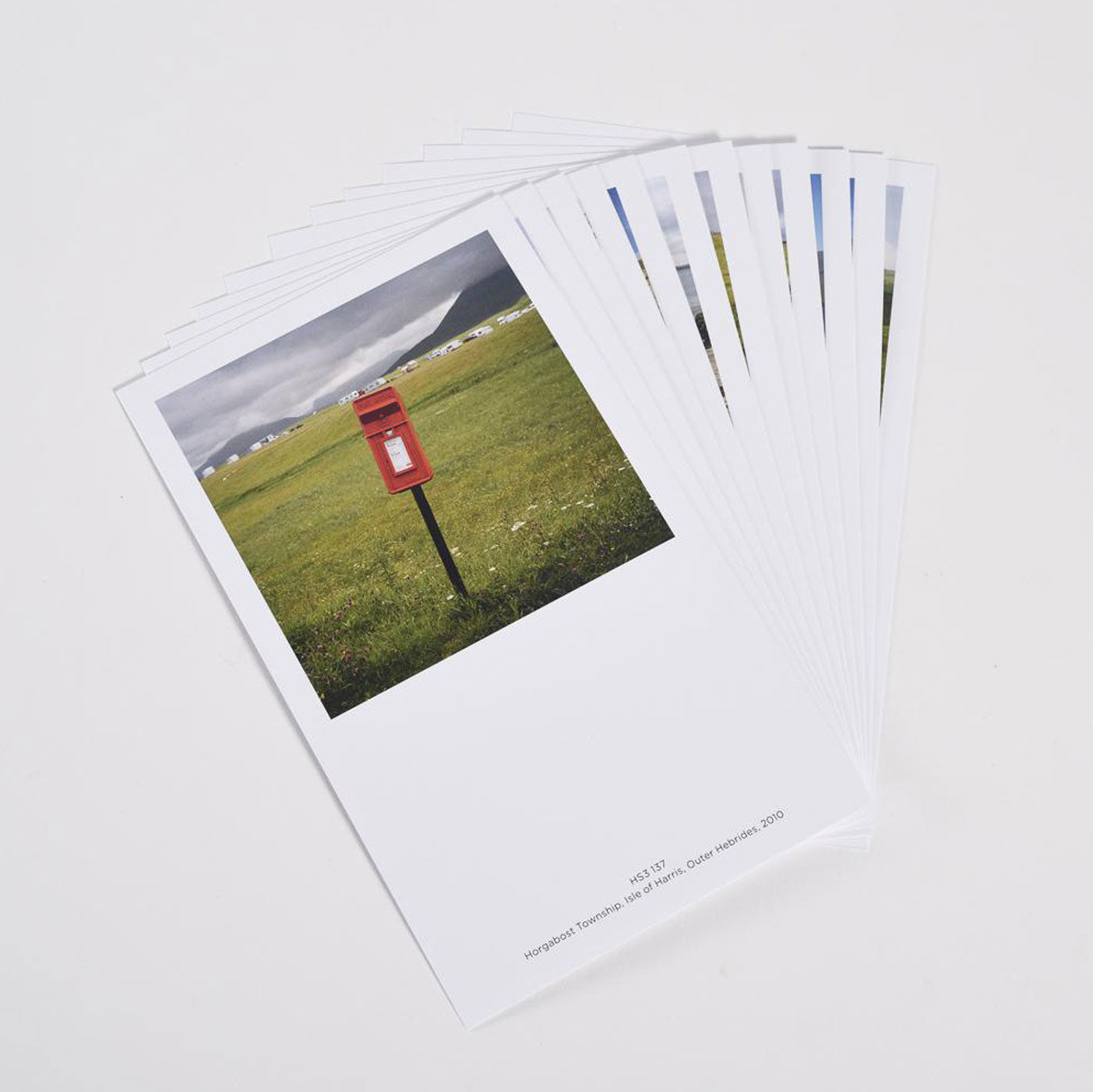 Martin Parr- Remote Scottish Postboxes (The Postcards)