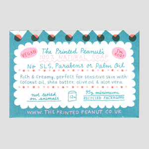 The Printed Peanut  | Aloe Vera Soap Bar | Colours May Vary