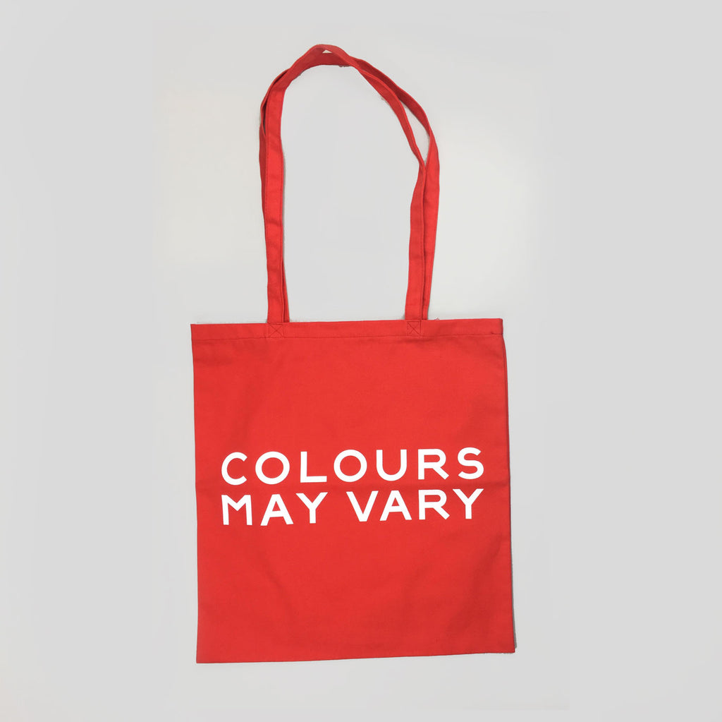 Colours May Vary Tote Bag - Red