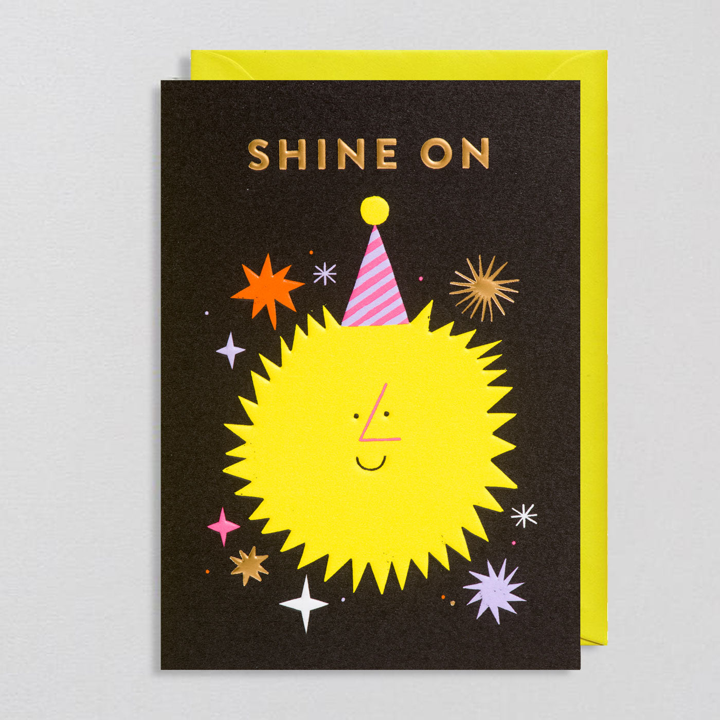 Rob Hodgson for Lagom  - Shine On Card. - Colours May Vary