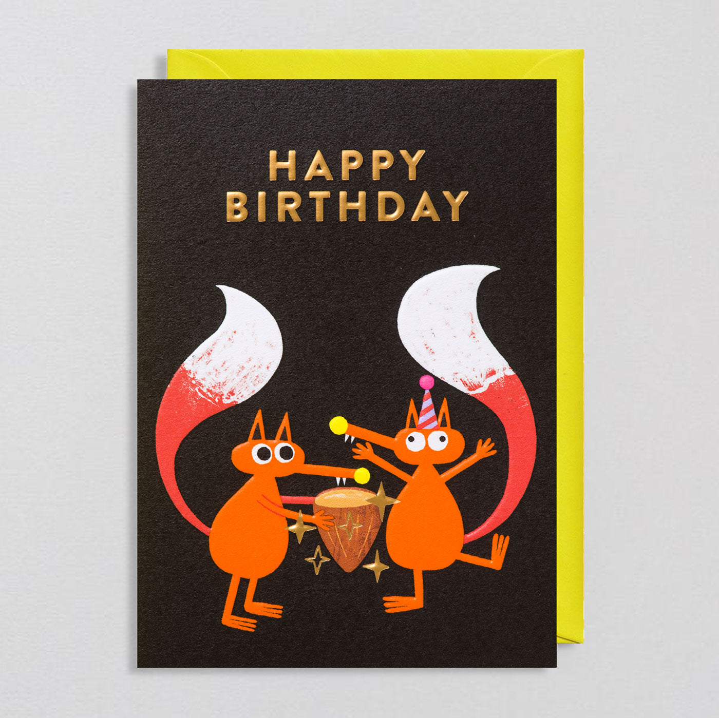 Rob Hodgson for Lagom  - Forest Party Card - Colours May Vary