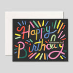 Rifle Paper Co. | Fireworks Birthday | Colours May Vary